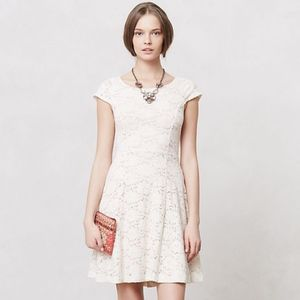 Anthropologie Maeve Dayflower Lace Dress Size XL